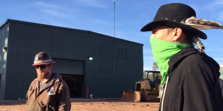 Video: Miners Confronted at Grand Canyon Uranium Mine