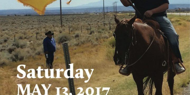 White Mesa Ute Community Protest & Spiritual Walk – May 13, 2017