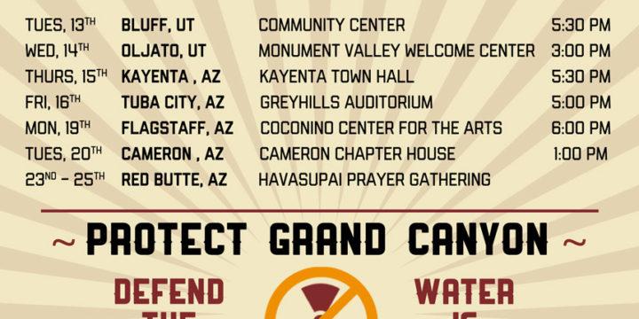 Haul No! Awareness & Action Tour Dates