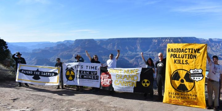 News Advisory: 'Haul No!' Tour Scheduled to Oppose Grand Canyon Uranium Mining & Transport