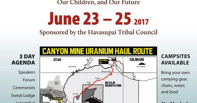 Stop Uranium Mining & Transport Red Butte Gathering June 23-25