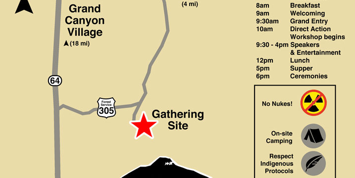 Red Butte Gathering Directions, Map & Agenda June 23-25, 2017